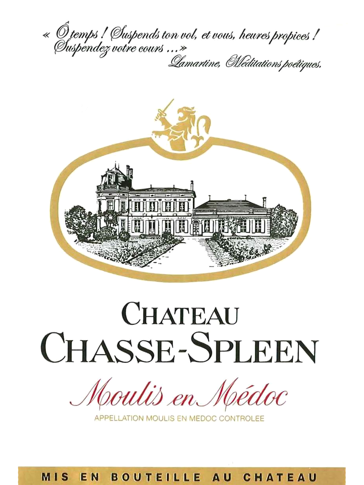 2011 Chteau Chasse Spleen Moulis 75cl Chateau
