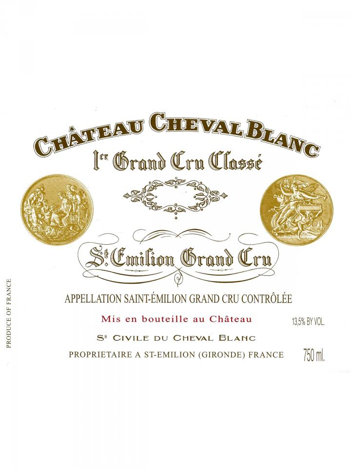 Château Cheval Blanc 1970 Original wooden case of 6 bottles (6x75cl)