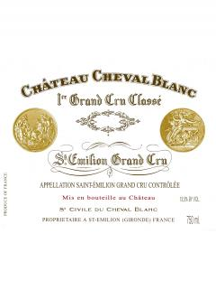 Château Cheval Blanc 2012 Original wooden case of 6 bottles (6x75cl)