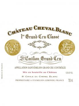 Château Cheval Blanc 2010 Original wooden case of 3 bottles (3x75cl)