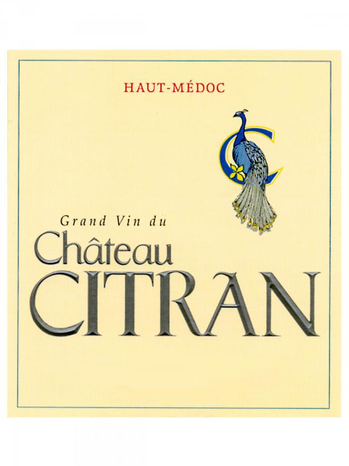 Château Citran 2018 Original wooden case of 12 bottles (12x75cl)