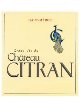 Château Citran 2016 Original wooden case of 3 magnums (3x150cl)