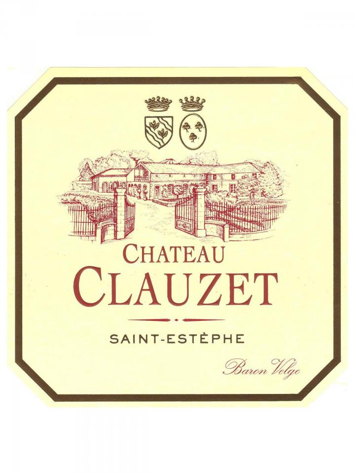 Château Clauzet 2013 Original wooden case of 6 bottles (6x75cl)