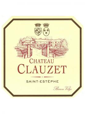Château Clauzet 2016 Original wooden case of 12 bottles (12x75cl)