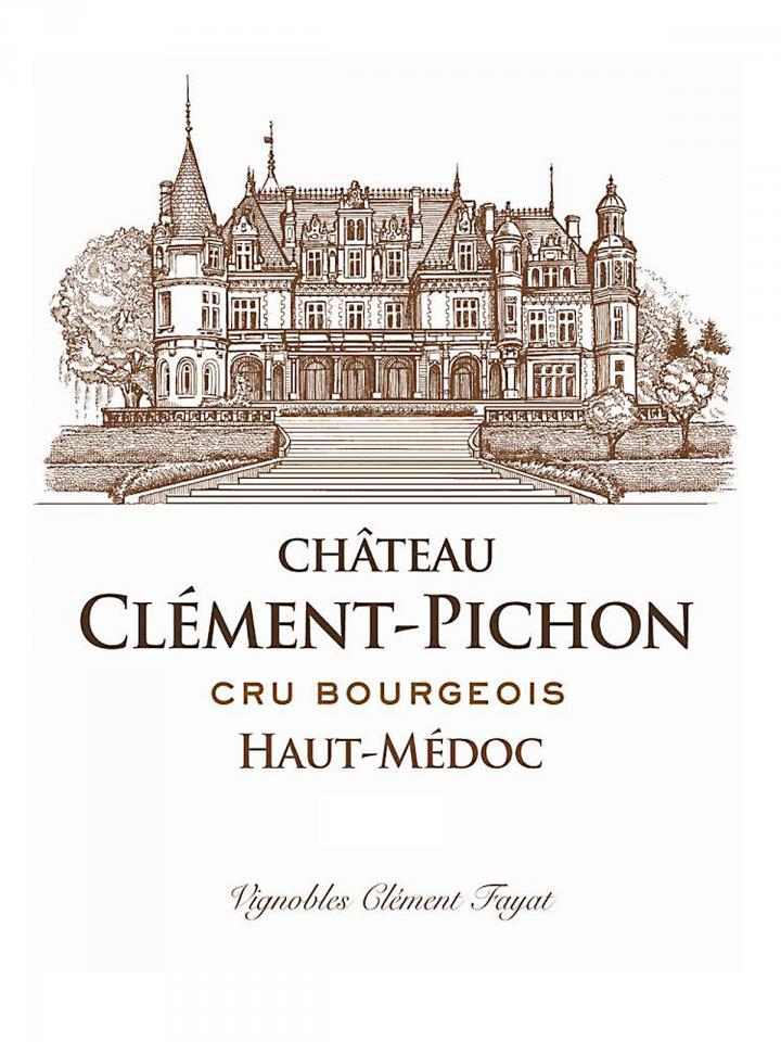 Château Clément-Pichon 2014 Original wooden case of 12 bottles (12x75cl)