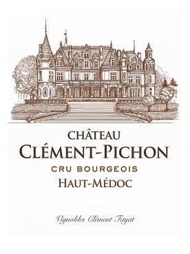 Château Clément-Pichon 2018 Original wooden case of 12 bottles (12x75cl)