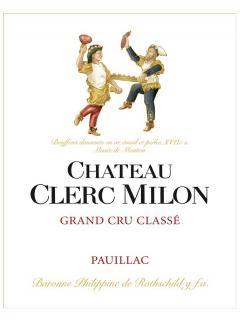 Château Clerc Milon 2017 Original wooden case of 12 bottles (12x75cl)