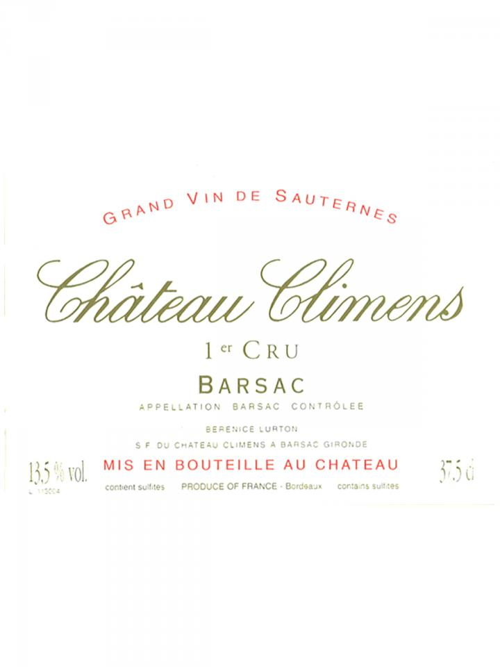 Château Climens 2005 Original wooden case of 24 half bottles (24x37.5cl)