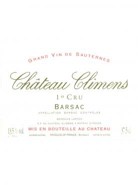 Château Climens 2015 Original wooden case of 12 half bottles (12x37.5cl)