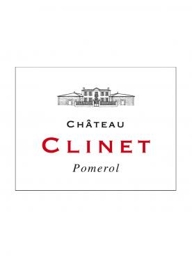 Château Clinet 2013 Original wooden case of 12 bottles (12x75cl)