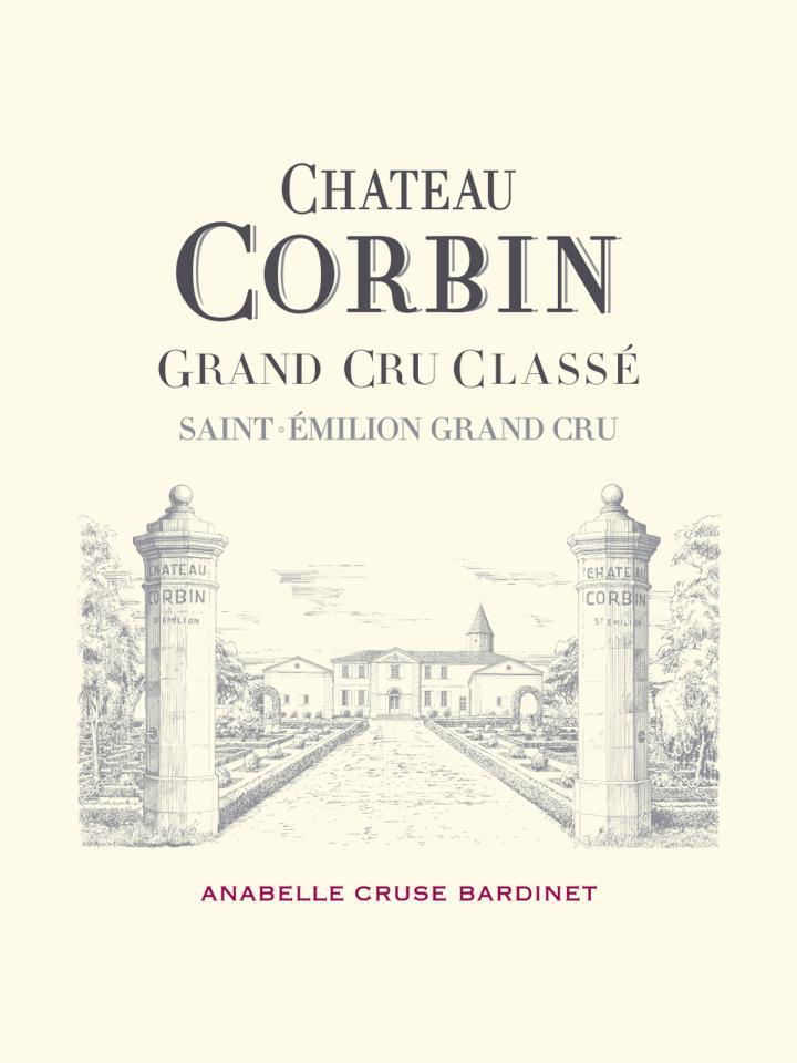 Château Corbin 2013 Original wooden case of 12 bottles (12x75cl)
