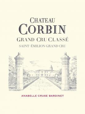 Château Corbin 2014 Original wooden case of 6 bottles (6x75cl)