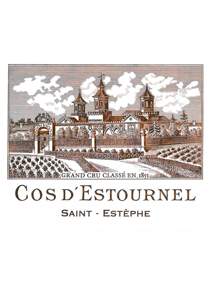 Château Cos d'Estournel 2013 Original wooden case of 6 bottles (6x75cl)