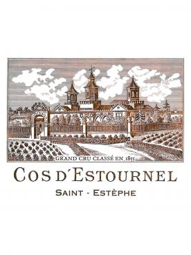 Château Cos d'Estournel 2015 Original wooden case of 6 bottles (6x75cl)