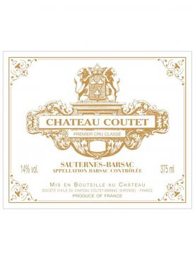 Château Coutet 2010 Original wooden case of 6 bottles (6x75cl)