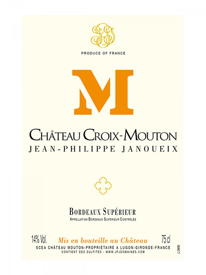 Château Croix-Mouton 2017 Original wooden case of 6 bottles (6x75cl)