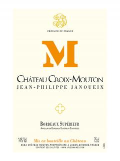Château Croix-Mouton 2016 Original wooden case of 6 bottles (6x75cl)