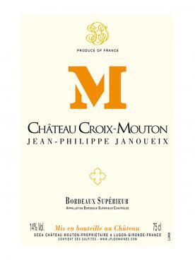 Château Croix-Mouton 2018 Original wooden case of 6 bottles (6x75cl)