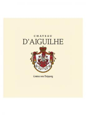 Château d'Aiguilhe 2018 Original wooden case of 6 bottles (6x75cl)