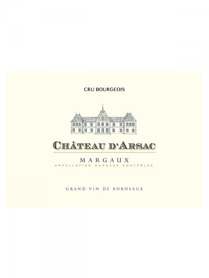 Château d'Arsac 2016 Original wooden case of 6 bottles (6x75cl)