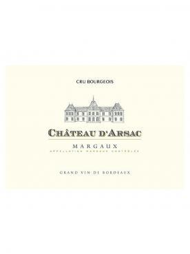 Château d'Arsac 2018 6 bottles (6x75cl)