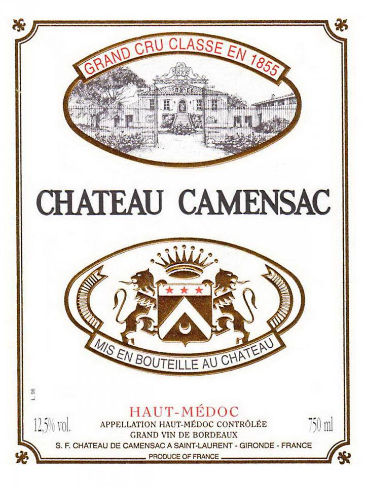 Château de Camensac 2005 Original wooden case of 6 magnums (6x150cl)