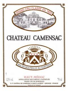 Château de Camensac 2012 Original wooden case of 6 magnums (6x150cl)