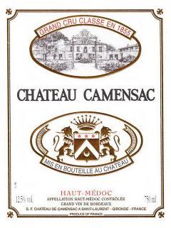 Château de Camensac 2009 Original wooden case of 12 bottles (12x75cl)