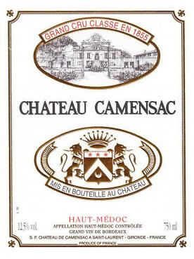 Château de Camensac 2016 Original wooden case of 12 bottles (12x75cl)