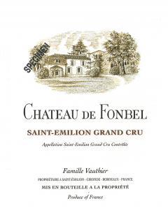 Château de Fonbel 2016 Original wooden case of 12 bottles (12x75cl)