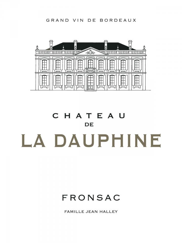 Château de la Dauphine 2013 Original wooden case of 12 bottles (12x75cl)