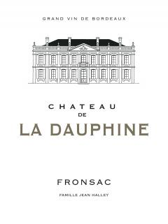 Château de la Dauphine 2017 Original wooden case of 12 bottles (12x75cl)
