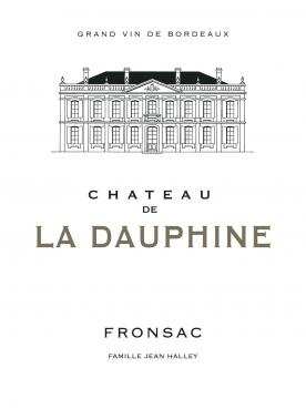 Château de la Dauphine 2016 Original wooden case of 6 bottles (6x75cl)