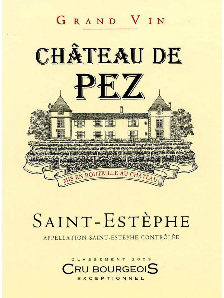 Château de Pez 2015 Original wooden case of 6 bottles (6x75cl)