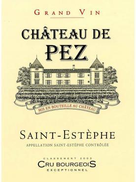 Château de Pez 2014 Original wooden case of 6 bottles (6x75cl)