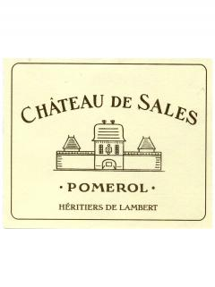 Château de Sales 1961 Bottle (75cl)