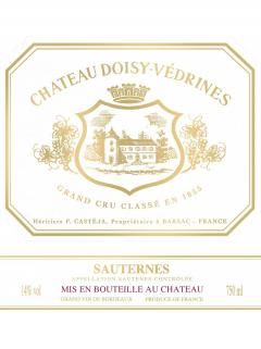 Château Doisy-Vedrines 2016 Original wooden case of 12 bottles (12x75cl)