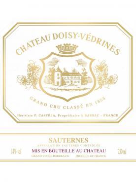 Château Doisy-Vedrines 2016 Original wooden case of 12 bottles (12x75cl)