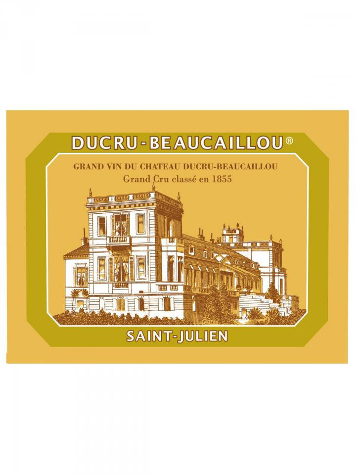 Château Ducru-Beaucaillou 2008 Original wooden case of 12 bottles (12x75cl)