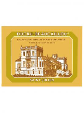 Château Ducru-Beaucaillou 2001 Original wooden case of 12 bottles (12x75cl)