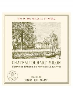 Château Duhart-Milon 2012 Original wooden case of 6 bottles (6x75cl)