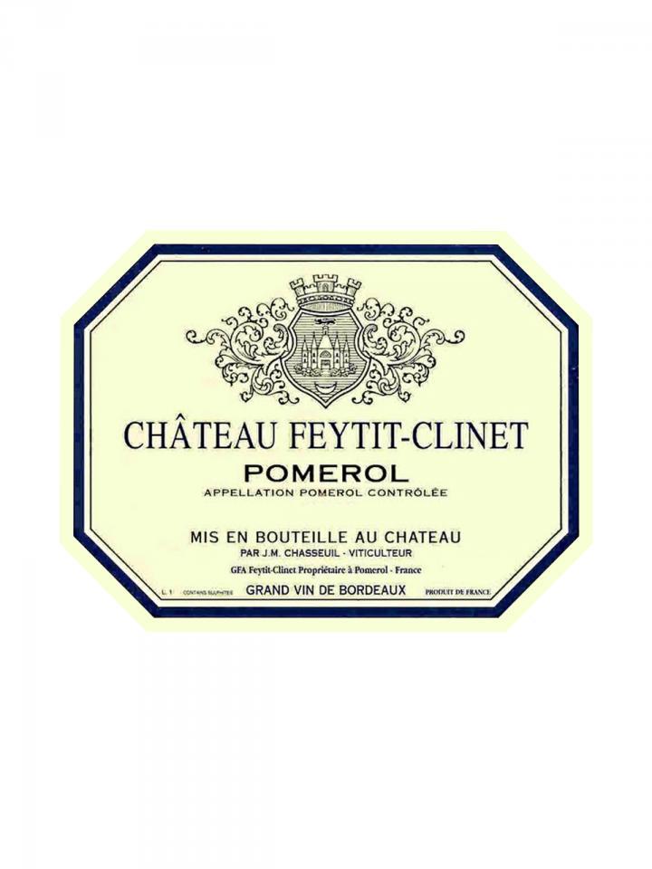 Château Feytit-Clinet 2014 Original wooden case of 6 bottles (6x75cl)