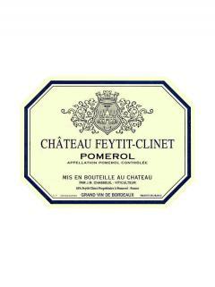 Château Feytit-Clinet 2017 Original wooden case of 6 bottles (6x75cl)
