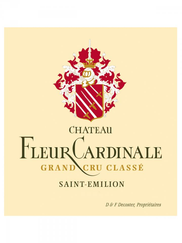 Château Fleur Cardinale 2014 Original wooden case of 12 bottles (12x75cl)