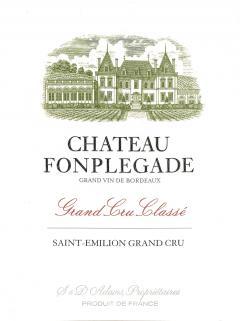 Château Fonplégade 2013 Original wooden case of 12 bottles (12x75cl)