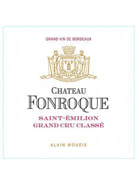 Château Fonroque 2018 Original wooden case of 12 bottles (12x75cl)