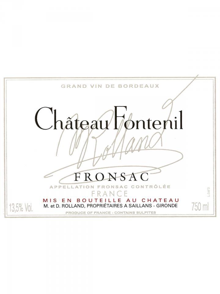 Château Fontenil 2017 6 bottles (6x75cl)