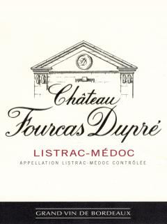 Château Fourcas Dupré 2012 Original wooden case of 6 magnums (6x150cl)