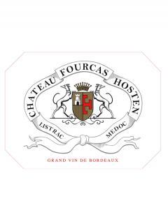 Château Fourcas Hosten 2018 Original wooden case of 6 bottles (6x75cl)