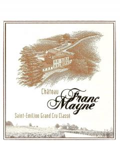 Château Franc Mayne 2015 Original wooden case of 12 bottles (12x75cl)